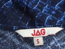 JAG BlueBlackFrilledModalLongTopMicroMiniSzS as NEW