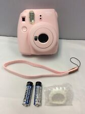 FUJIFILM INSTAX MINI 9. ROSE. INSTANT CAMERA.GOOD CONDITION. NO Battery Cover.