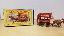 MATCHBOX LESNEY MODELS OF YESTERYEAR NO. Y-12 HORSE BUS & BOX OLD STORE STOCK
