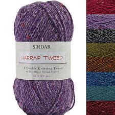Sirdar Harrap Tweed DK Knitting Yarn 50g - Complete Range In Stock