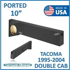 "Fits Toyota Tacoma Double-Cab 1995-2004 10"" Single ported sub box Sub Enclosure"