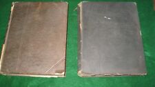 1891 ENCYCLOPEDIA BRITANICA VOLUME 9, TWO BOOKS FAL-FYZ & BOK-CAN