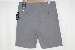 """Hurley Men's Phantom Jetty 20"""" Hybrid Shorts Size 31 Gray Black 895083 010"""