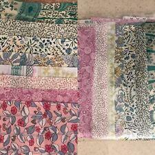 Various selection of Pink Green, liberty tana lawn scraps