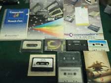 COMMODORE 64 depliants + manuale italiano originale + GIOCHI,