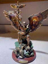Bradford Exchange Bronze Sculpture Collection: Archangels of Light, St. Raphael