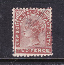 N.S.W. Stamp Duty: 2d Qv Used