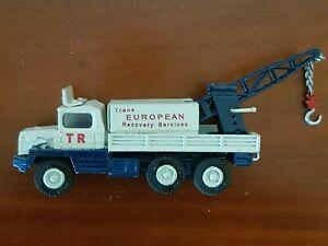 Dinky Toys 620 Berliet Gazelle Heavy Haulage Tow Truck