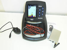 Colour Fish Finder, 300 Metre range, Bait Boat, Sonar, Depth, Features, Carp,