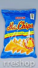 Jack n Jill Mr. Chip Nacho Cheese Flavored Corn Chips Lot of 2