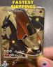 Pokemon GOLD Shiny Charizard V Champions Path Metal Card CUSTOM 79/73 - MINT!
