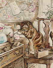 Potter Beatrix Simpkin Housekeeping Print 11 x 14  #4438