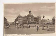 South Africa, Church Square Pretoria Postcard, B139