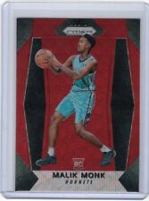 2017-18 Panini Prizm #233 Malik Monk Ruby Wave Prizm Rookie RC