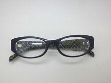NEW Authentic PRADA VPR 03P MAT-1O1 Purple Eyeglasses 51mm