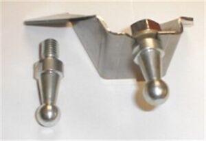 MOPAR 1966-74 B & E-Body Clutch Bell Crank Frame Bracket Kit Manual Transmission