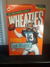 Dan Marino Wheaties Cereal Box FULL New Unopened Collectible