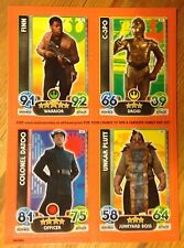 TOPPS STAR WARS FORCE ATTAX EXTRA PROMO CARDS SHEET UNCUT COMIC CON LONDON 2016