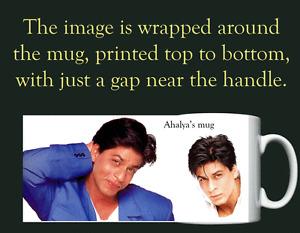 Shahrukh Khan - Bollywood - Personalised Mug / Cup