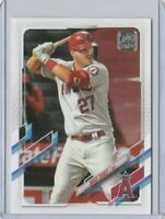 2021 TOPPS SERIES 1 MIKE TROUT #27 LOS ANGELES ANGELS