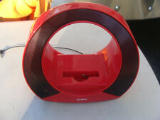 iWave Portable Red Speaker For Various Devices