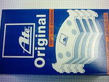 ATE Pastillas freno OPEL ASTRA F /Calibra /VECTRA A Kit para delant. + TRASERO