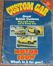 CUSTOM CAR Magazine Nov 1972 - Fiat 128 Coupe & Plymouth Duster Tests