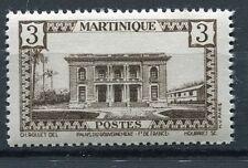 TIMBRE MARTINIQUE  NEUF **   N° 191  HOTEL DU GOUVERNEUR FORT DE FRANCE