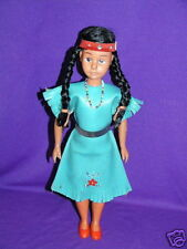 Vintage Indian Maiden Doll 12 inch c1960s Hong Kong