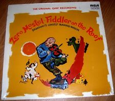 Fiddler On The Roof  Zero Mostel  Original Broadway Cast 1964 RCA LSO1093 Sealed