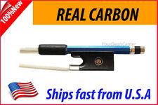 New Genuine Carbon Fiber Violin Bow 1/2 --BLUE