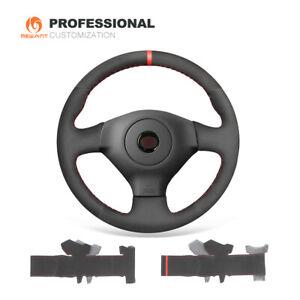 Synthetic Suede Car Steering Wheel Cover for Subaru Impreza WRX (STI) 2005-2007