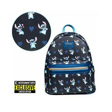 Loungefly Disney Lilo and Stitch Hearts EE Mini Backpack in Stock