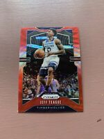 2019-20 Panini Prizm Jeff Teague Ruby Wave Red Insert