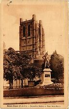CPA ST-OMER Jacqueline Robins et Tour St. Bertin (405220)