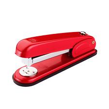 Delta-D103 Steel Commercial Desk Stapler Automatic Refill 30 Sheet Capacity Red