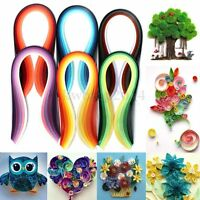 600 Strips Paper Quilling 30 Colors 39cm Length Papercraft Craft Mixed DIY Set
