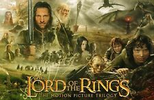 Lord Of The Rings Trilogy movie poster : 11 x 17 inches