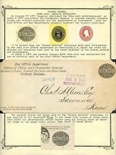US PENALTY SQUARE (ENVELOPE) COLLECTION (64) DIFFERENT BT4698