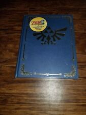 Legend of Zelda Phantom Hourglass Collector's  Hardcover Strategy Guide Sealed