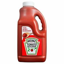 Heinz Tomato Ketchup Sauce Large Bottle Catering B&B FAMILY OFFICE Size 4L 4.5kg