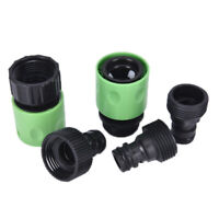 5x Water Hose Fitting Pipe Joint Tube Garden Tap Quick Connector Adaptor Set hz