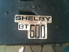 Shelby GT 500 logo Metal Man Cave/Garage Wall Art