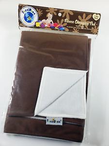 Fuzzi Bunz Changing Pad Fuzzibunz Cloth Diaper Accessory Fleece Washable - Brown
