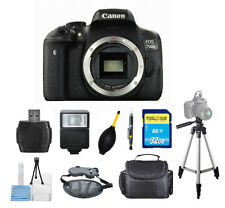 Canon EOS Rebel T6i/750D DSLR Camera BODY - PRO BUNDLE - New!!
