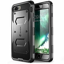 Apple iPhone 8 Plus Dual Layer Cover Built In Screen Protector Super Tough Stand