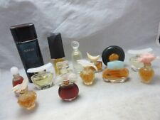 Vintage lot mini perfume bottles. Picasso, Knowing, Dazzling, MORE