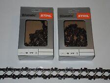 "2x Original Stihl Sägekette 35 cm 1,1  3/8"" PICCO MICRO 50 x TG PM"