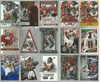 Julio Jones Atlanta Falcons Alabama 15 card 2015 insert lot-all different