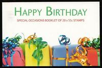 HAPPY BIRTHDAY SPECIAL OCCASIONS PRESTIGE STAMP BOOKLET AUSTRALIA - MINT